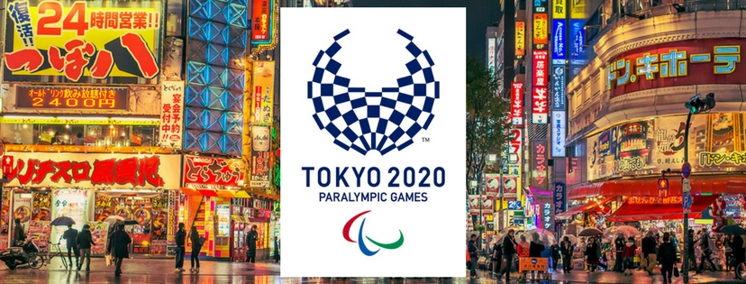 2020 Tokyo Paralympic Games Facebook Cover Photo