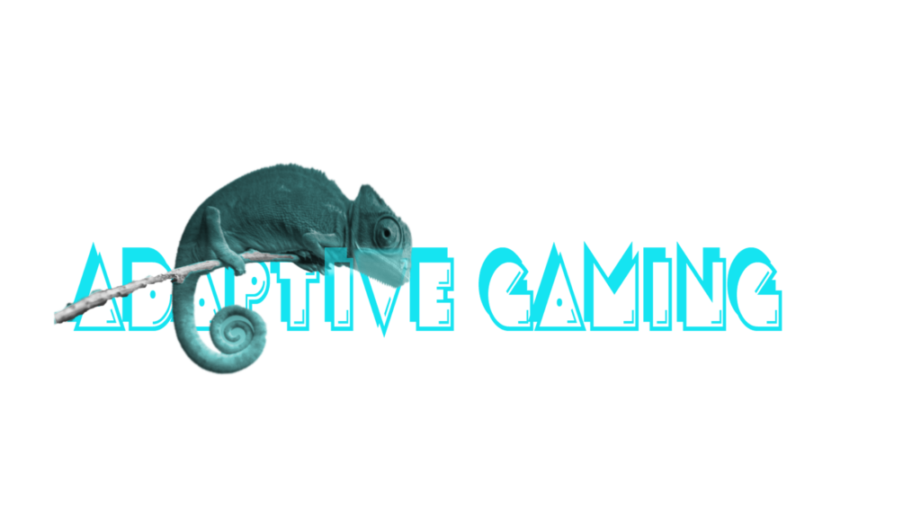 Adaptive Gaming Logo & Overlay for Social Media Content